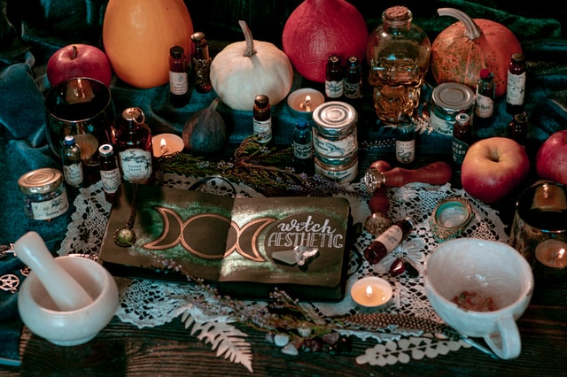 witch altar litha activity printable witchcraft